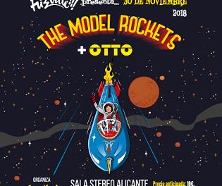 THE MODEL ROCKETS este viernes en la Sala Stereo de Alicante