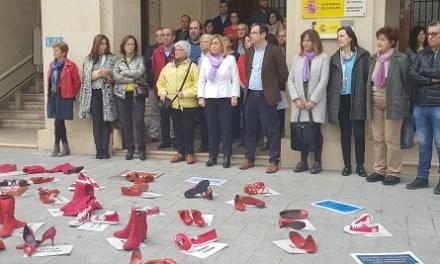 Sabates roges contra la violència cap a les dones
