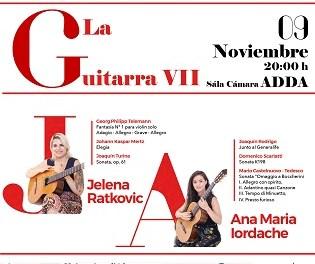 Concierto Cum Laude en el ADDA con alumnos del Máster de Interpretación de Guitarra Clásica de la UA