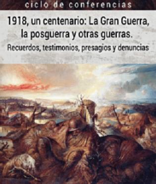 La Sede Ciudad de Alicante de la Universidad de Alicante dedica un ciclo al fin de La Gran Guerra con motivo de su centenario