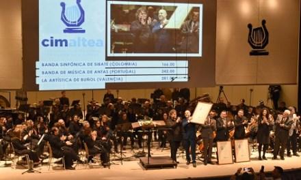 La Sociedad Musical 'La Artística' de Buñol guanya la 45 edició del Certamen Internacional de Bandes de Música Vila d'Altea