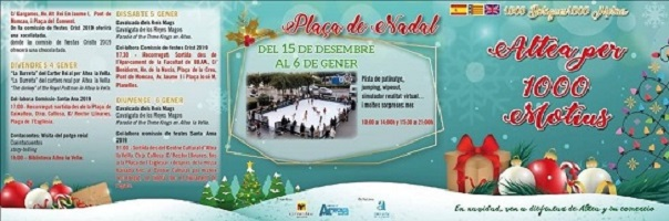 Numerosas y variadas son las actividades navideñas que Altea albergará en las próximas semanas