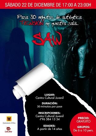 El Centro Juvenil de Altea se convertirá en una escape room con la temática de las películas de la saga Saw