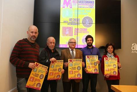 La II edición del Festival de Rock Mediterráneo ofrecerá cuatro conciertos con ocho bandas locales y otras de proyección nacional