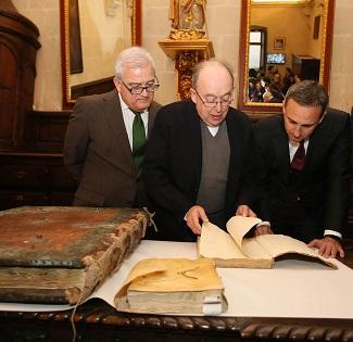 La Diputació d'Alacant es compromet a restaurar l'òrgan renaixentista de la Concatedral de Sant Nicolás