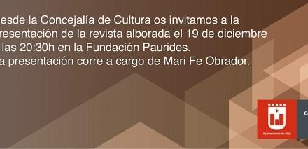 La Fundación Paurides de Elda acoge este miércoles la presentación de la 61ª edición de Alborada
