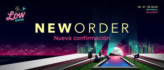 La banda britànica New Order encapçala cartell del Low Festival 2019