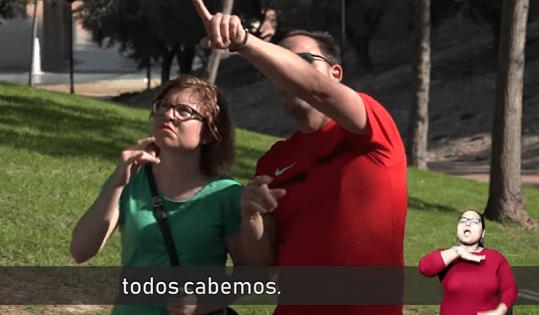 Sabries reconéixer a una persona sorda? Aquesta és la pregunta que ens fa la Associació de Persones Sordes de l'Alacantí