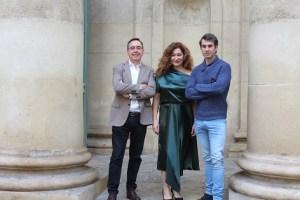 Eduardo Galán, Dani Muriel (Nerón) y Chiqui Fernández (Agripina) . Foto: Teatro Principal
