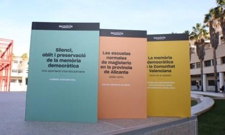Una nova col·lecció literària publica les investigacions de la Càtedra Interuniversitària de Memòria Democràtica