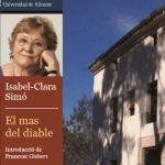 """Isabel-Clara Simó presenta la nueva edición de su libro """"El Mas del Diable"""" en el Campus de la UA en Alcoy"""