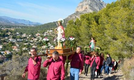 Xàbia celebra aquest dijous el romiatge a Santa Llúcia