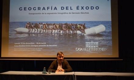 "Casa Mediterráneo acull l'exposició ""Geografia del Éxodo"" del fotorreporter Gervasio Sánchez"