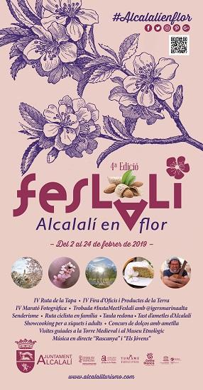 """Alcalalí presenta """"Feslalí, Alcalalí en flor"""" con la almendra como protagonista"""