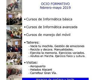 L'Ajuntament d'Alacant té obert el termini d'inscripció de les activitats gratuïtes del Centre de Recursos de Consum fins al 28 de gener