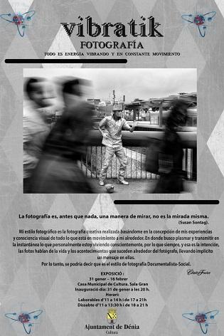Vibratik: l'exposició fotogràfica de Claudio Fuster a Dénia