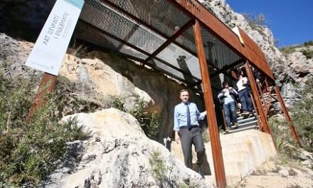La Diputación de Alicante ejecutará en 2019 el Centro de Interpretación de los yacimientos de arte rupestre de Vall de Gallinera