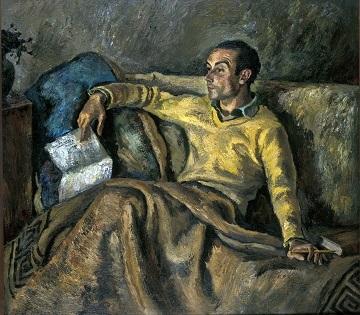 """El retrat de l'autor Juan Gil-Albert obri el cicle """"Descobreix una obra d'art"""" d'enguany"""