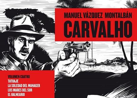 Exposición dedicada a Pepe Carvalho, el famoso detective de Vázquez Montalbán, en el Museo de Arte Contemporáneo de Elche