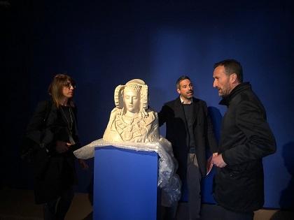 El Ayuntamiento de Elche ultima la adecuación de la Torre del Homenaje del Palacio de Altamira para acoger la Dama