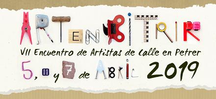 Participar com artistes en ARTenBITRIR del 5, 6 i 7 d'abril