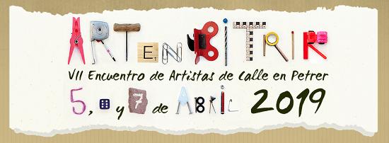 Participar como artistas en ARTenBITRIR del 5,6 y 7 de abril