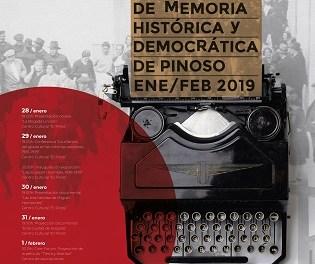 La setmana pròxima, El Pinós acollirà les II Jornades de Memòria Històrica i Democràtica
