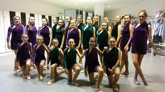 Las alumnas de danza clásica de la Casa de Cultura de Sant Joan en el ADDA por una causa solidaria