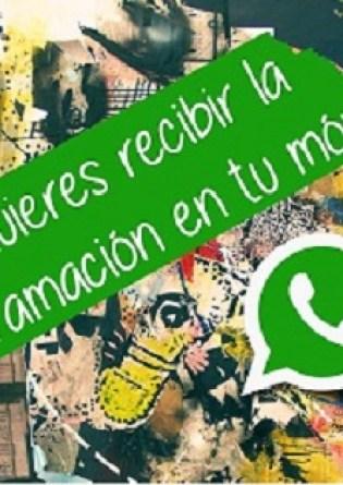 La cultura ahora por WhatsApp en Sant Joan