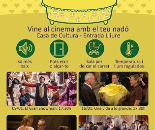 Cinema hui per a dones en període de lactància a Sant Joan