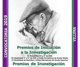 """Premis """"José María Soler"""" d'Investigació i Iniciació a la Investigació 2019"""