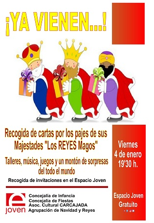 YA VIENEN los Reyes a Villena