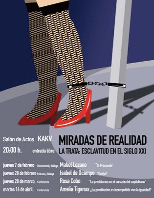 """""""Mirades de Realitat"""", un cicle multidisciplinari a Villena que porta a la llum l'esclavitud de la prostitució"""