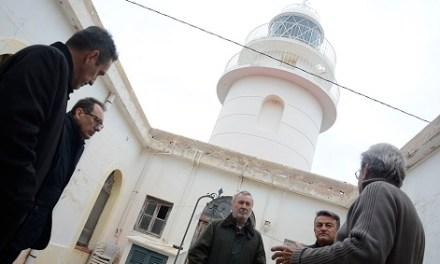 La autoridad portuaria de Alicante cederá a Xàbia el faro del Cap de Sant Antoni
