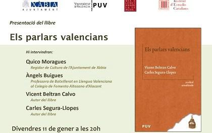 """""""Els Parlars Valencians"""" se presenta este viernes en Xàbia"""