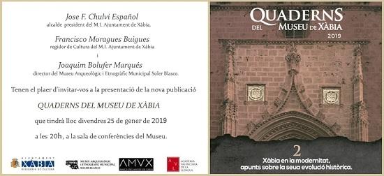 """El segon número de """"Quaderns del Museu"""" arriba amb un retrat de la Xàbia de l'època moderna"""