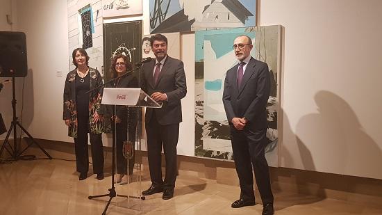 """La Sala Llotja del Peix, el MACA i la Fundació Coca-Cola van inaugurar l'exposició d'art contemporani """"Construint Històries"""""""