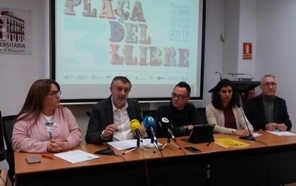 Alicante acogerá entre los días 22 y 24 de febrero su tercera Plaça del Llibre a la Plaza del Puerto