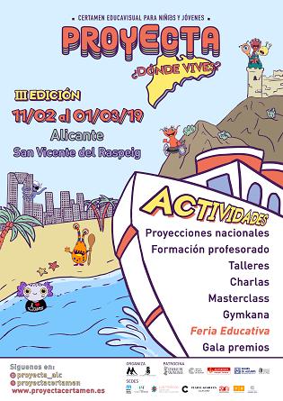 Els centres educatius protagonistes de la III Edició de Projecta on vius? a Alacant i Sant Vicent del Raspeig