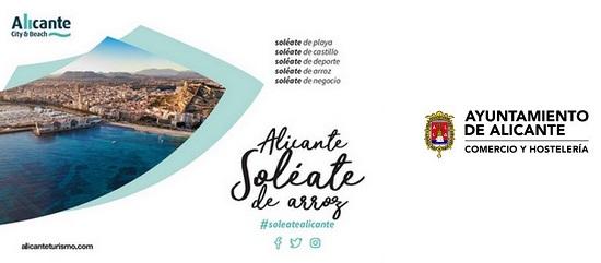 """L'estand de l'Ajuntament d'Alacant a """"Alacant Gastronòmica"""" oferirà plats i tapes gratuïts d'arròs, carns, salaó i begudes"""