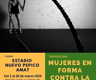 La Regidoria d'Igualtat i Dona d'Elda organitza una exposició sobre les dones en el món de l'esport