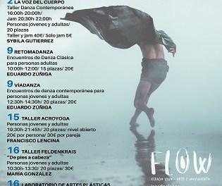 La dansa i l'art són una bona alternativa per a febrer en FLOW Espacio Vivo