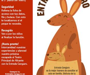 """El Principal aposta per l'oci en família amb el seu projecte """"ENTRADA CANGUR"""""""