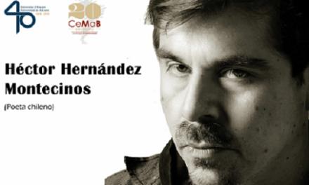 El poeta chileno Héctor Hernández Montecinos hablará de Raúl Zurita hoy en el CeMaB de la Universidad de Alicante