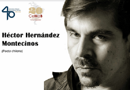 El poeta xilè Héctor Hernández Montecinos parlarà de Raúl Zurita hui al CeMaB de la Universitat d'Alacant