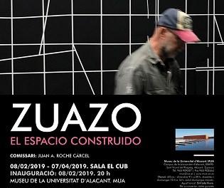 """Jesús Zuazo expone """"El espacio construido"""" en el Museo de la Universidad de Alicante"""