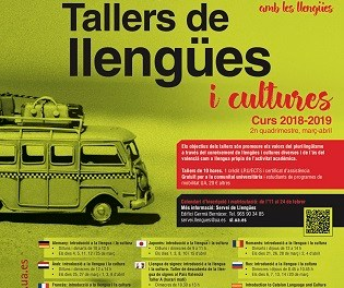 Obert el termini de matrícula de la VI Edició dels Tallers de Llengües i Cultures de la Universitat d'Alacant