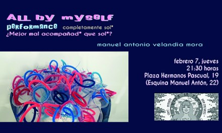 Performance All by myself / Completamente solo, Performance de Velandia en Viva la Pepa