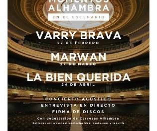 """Momentos Alhambra en el Escenario"""" arranca en el Teatre Principal d'Alacant amb l'actuació de Varry Brava"""