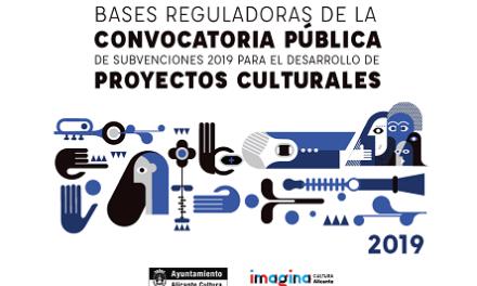 Oberta la convocatòria pública de subvencions 2019 de l'Ajuntament d'Alacant per al desenvolupament de projectes culturals